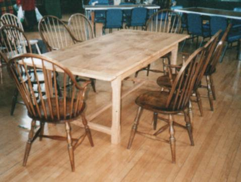A set of  Windsor Chairs