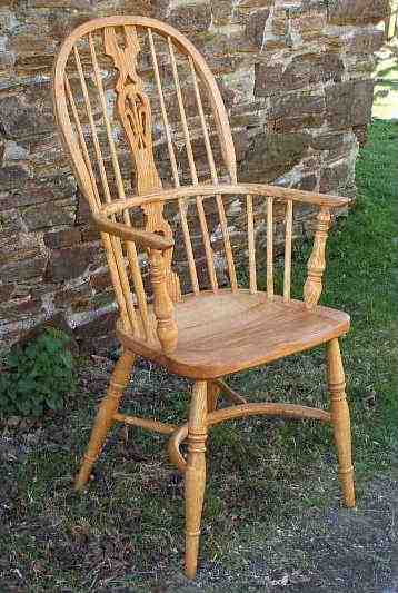 Bon High Back Windsor Chair